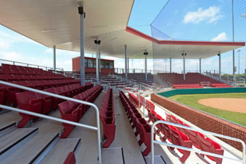 Softball Bleachers - Sinton ISD