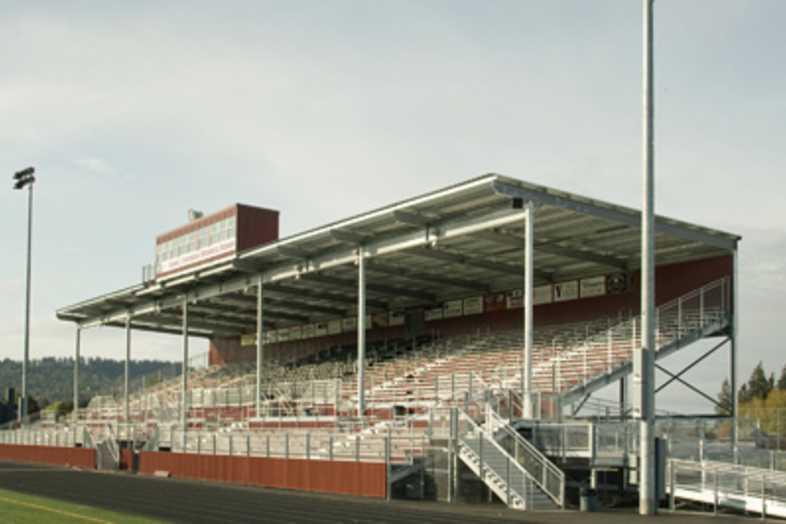 Football Bleachers - Sherwood School District 88J