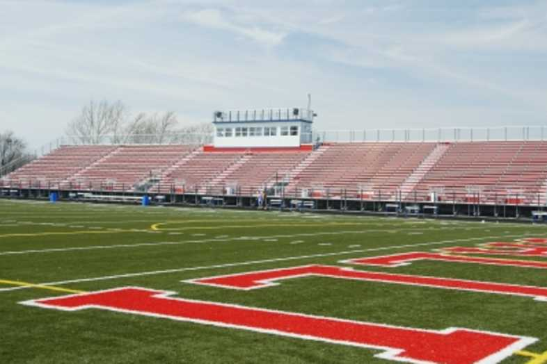 Football Bleachers - Roncalli High School