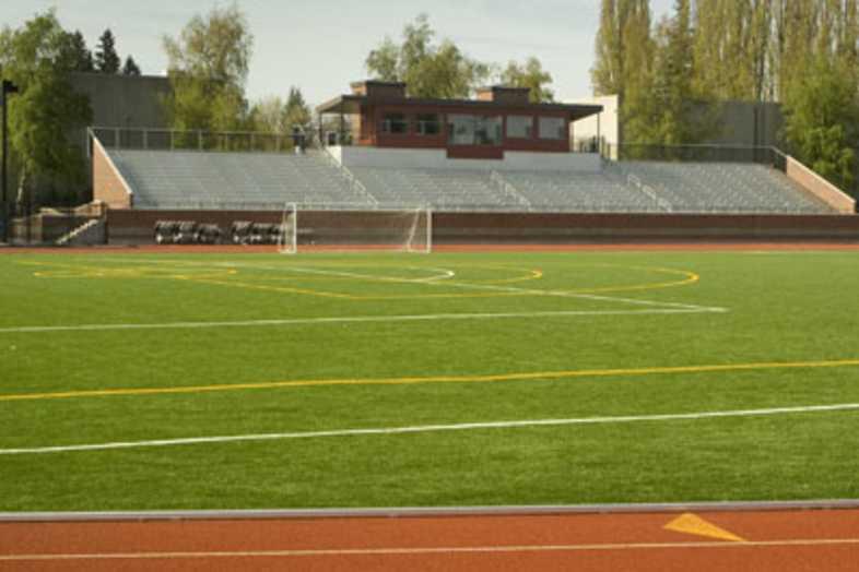 Track Bleachers - Pacific University Athletic Complex