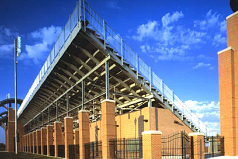 Football Bleachers - Ohio State University