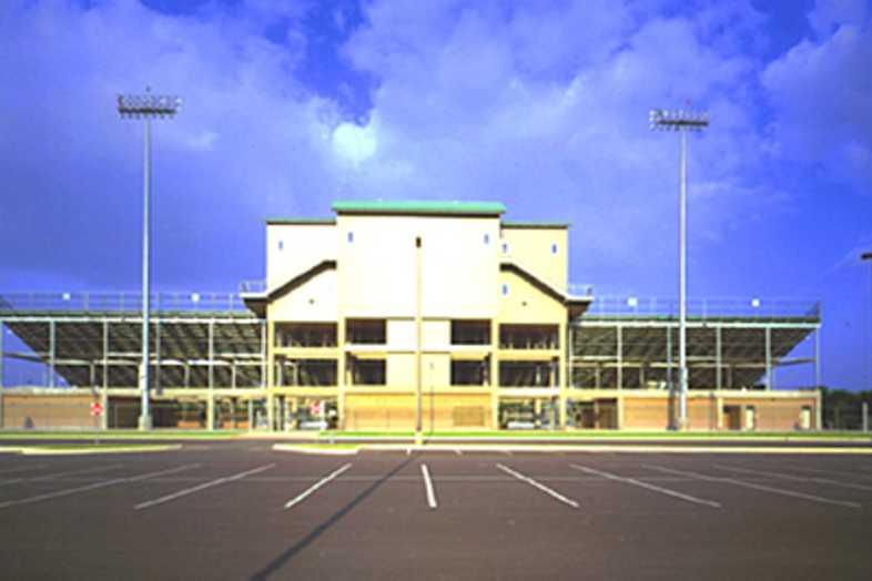 Football Bleachers - Northside ISD