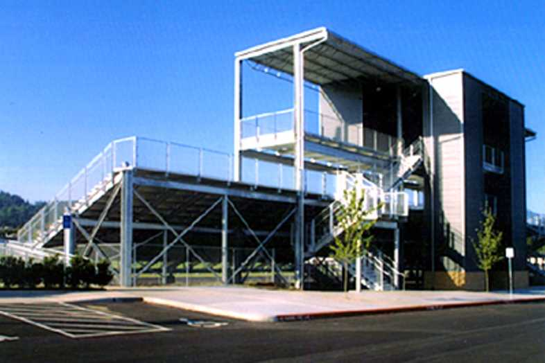 Football Bleachers - North Clackamas