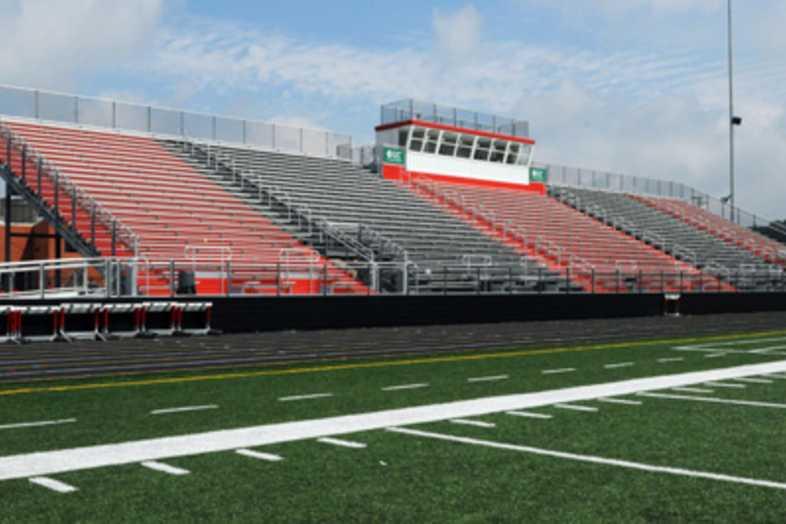Football Bleachers - Mason County Board of Education