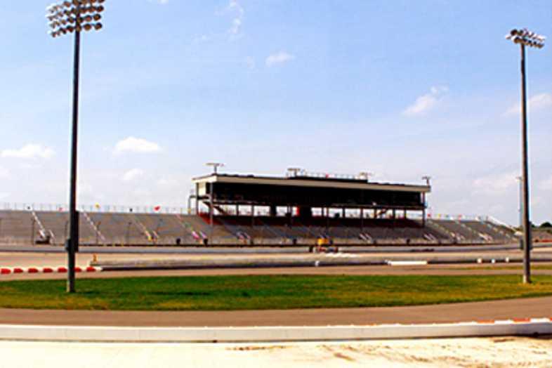 Bleachers - Mansfield Motor Speedway