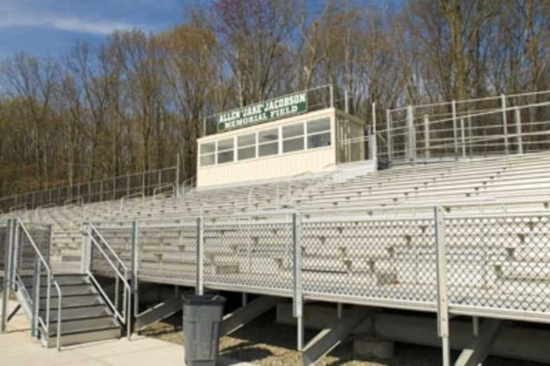Football Bleachers - Livingston Board of Education