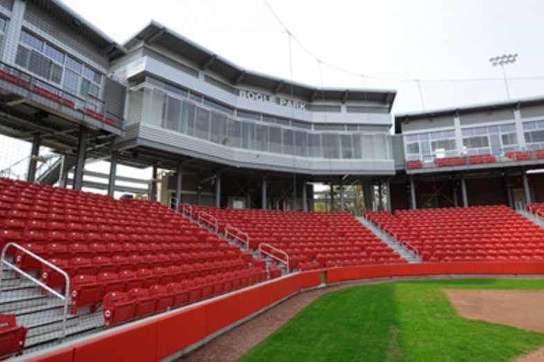 Softball Bleachers - University of Arkansas