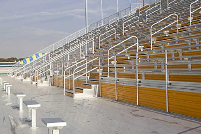 Football Bleachers - Kent State University
