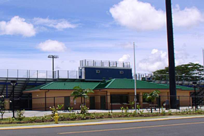 Football Bleachers - Kea'au Hawaii