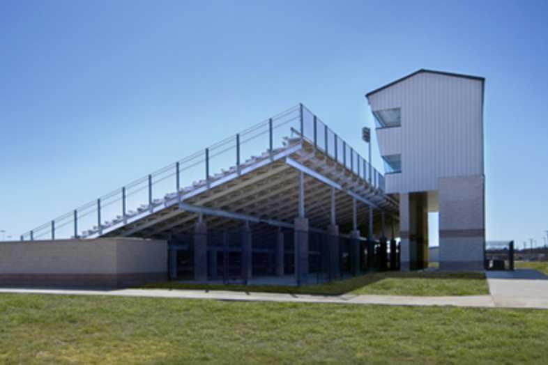 Football Bleachers - Jacksboro ISD