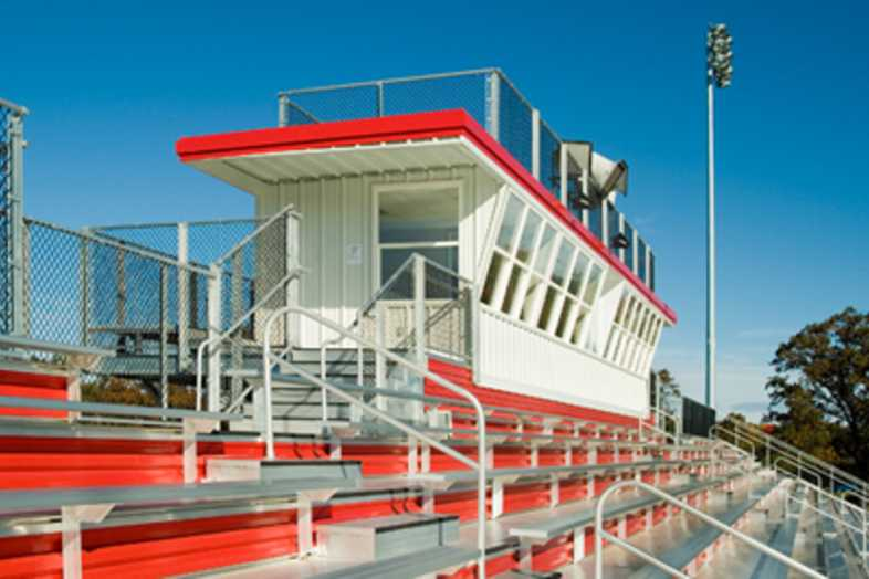 Football Bleachers - Holton High School