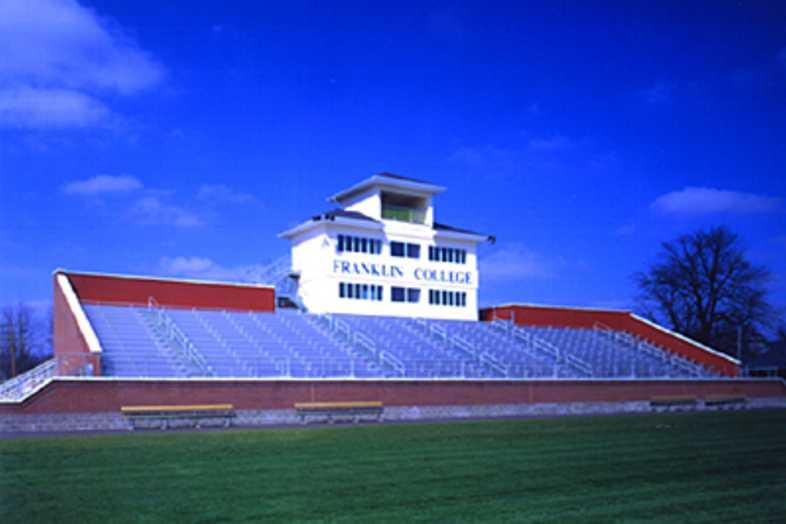 Football Bleachers - Franklin College