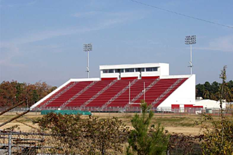 Football Bleachers - Fairview High School