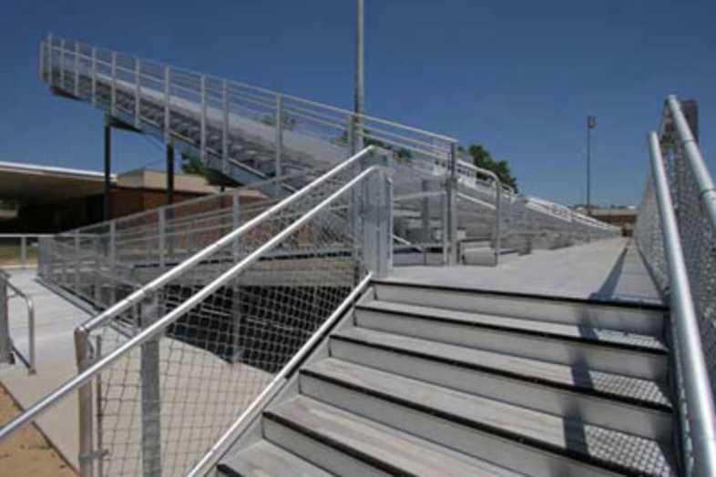 Football Bleachers - Darlington County School District