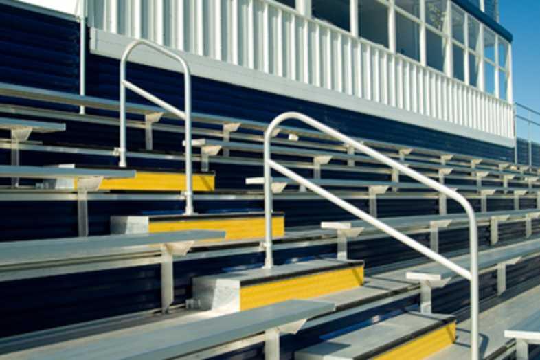 Football Bleachers - Chelsea School District