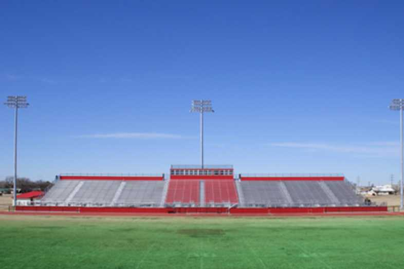Football Bleachers - Brownsfield ISD