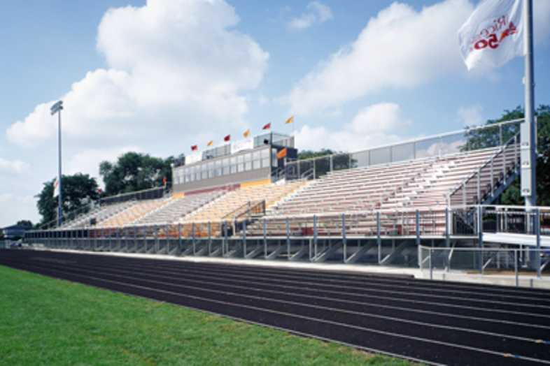 Football Bleachers - Brother Rice High School