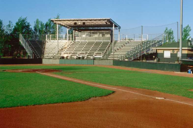 Baseball Bleachers - Bozeman Bucks Stadium