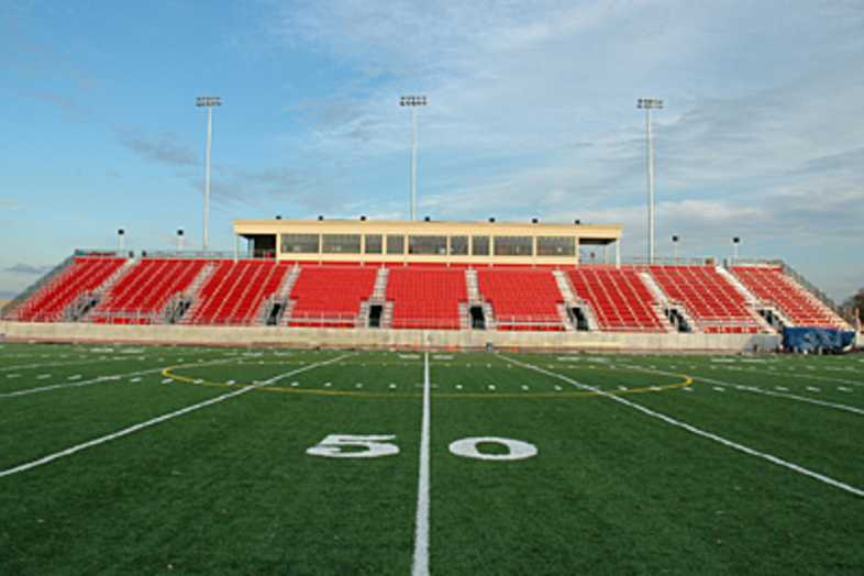 Football Bleachers - Benedictine University