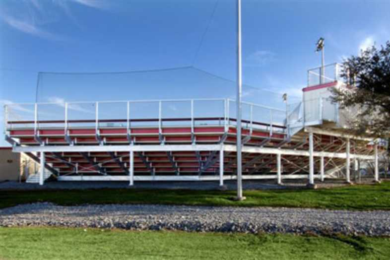 Baseball Bleachers - Austin College
