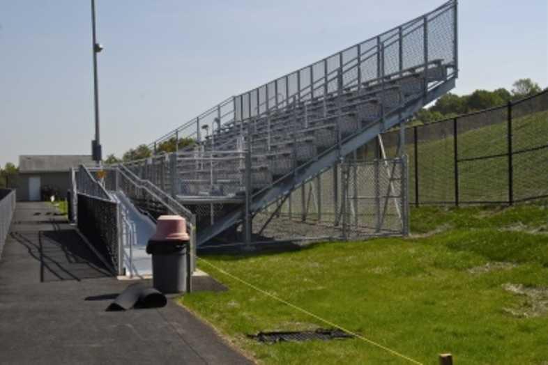 Football Bleachers - Daniel Boone Area School District