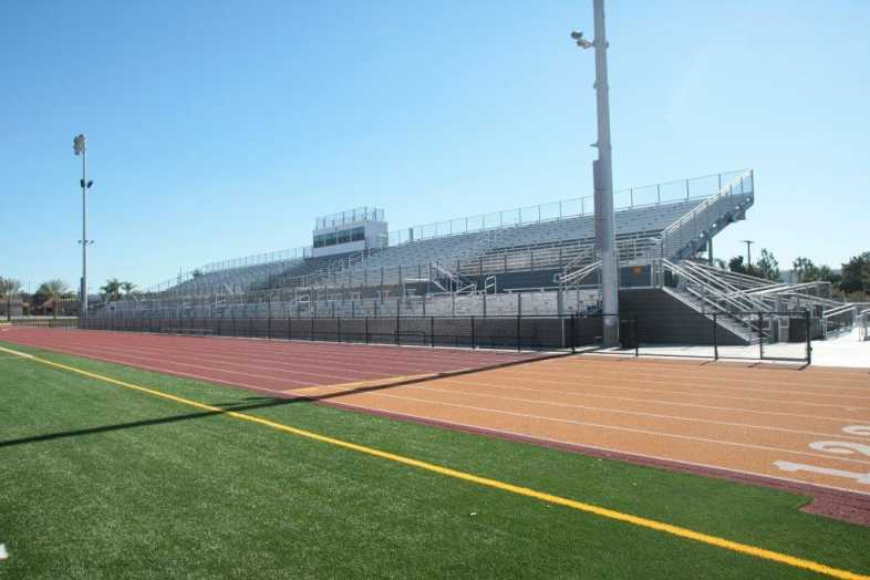 Covina-Valley Unified School District - Football Bleachers - 1