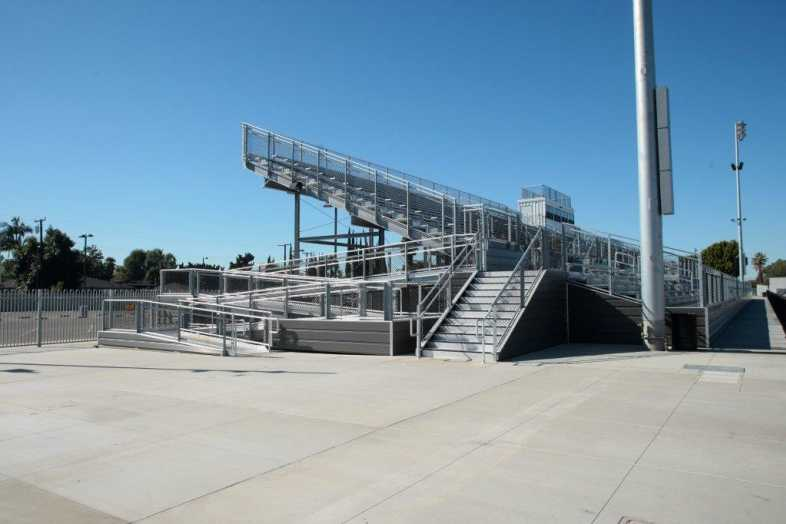 Covina-Valley Unified School District - Football Bleachers - 8