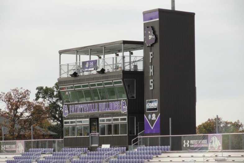 Fayetteville High School - Press Box - 1