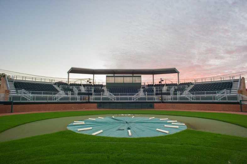 Delta State University - Baseball Bleachers - 1