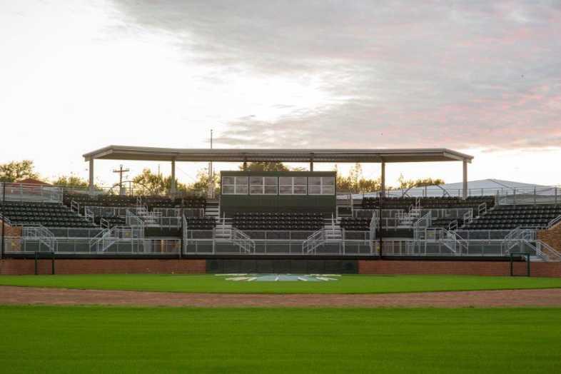 Delta State University - Baseball Bleachers - 2