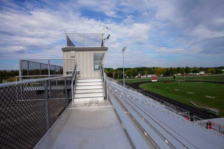 PLYMOUTH COMMUNITY SCHOOL CORPORATION - Football Field - Built by Southern Bleacher - 6