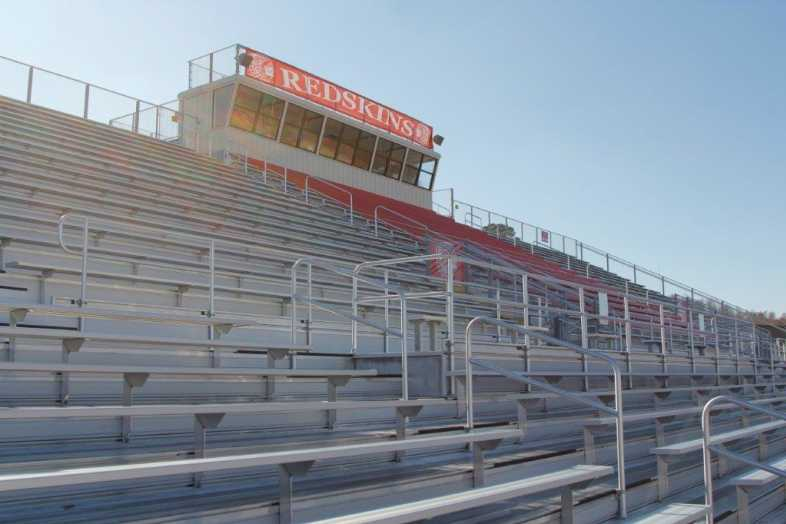 Pocahontas School District - High School Football Bleachers - 5