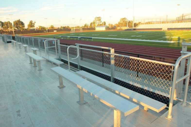 Santa Ana Unified School District - Football Bleachers - 8