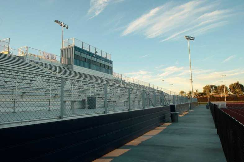 Santa Ana Unified School District - Football Bleachers - 11