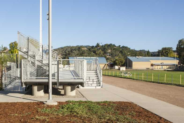 Cloverdale USD Football Stadium - 3