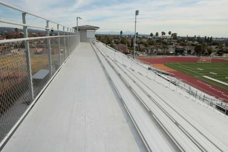 Whittier Union High School District - Football Bleachers - 3