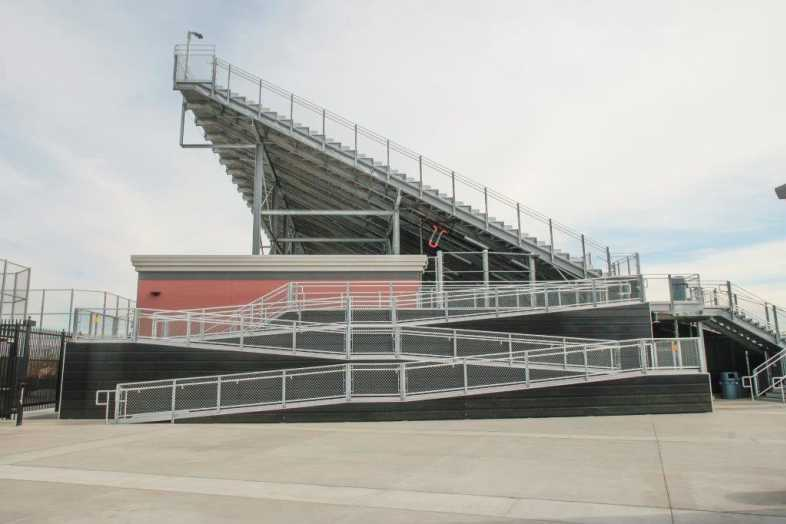 Whittier Union High School District - Football Bleachers - 7