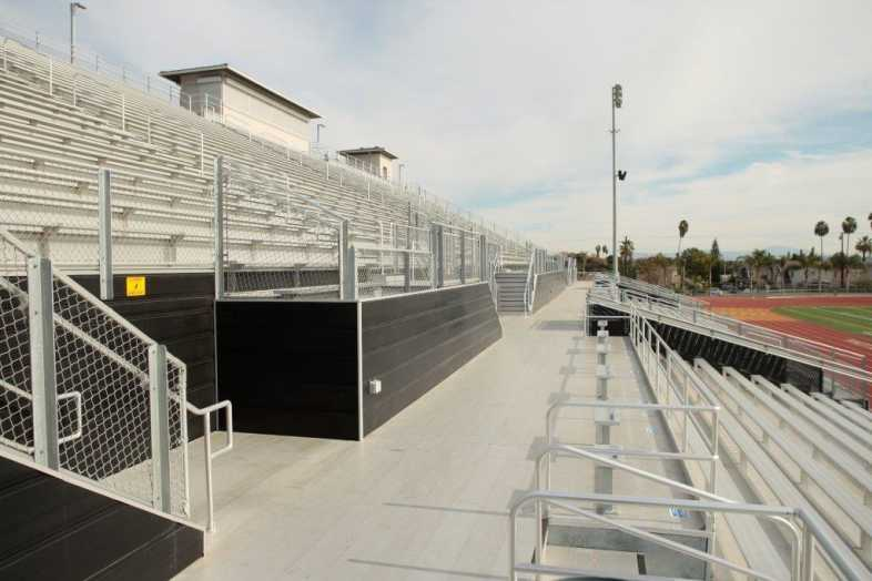 Whittier Union High School District - Football Bleachers - 8
