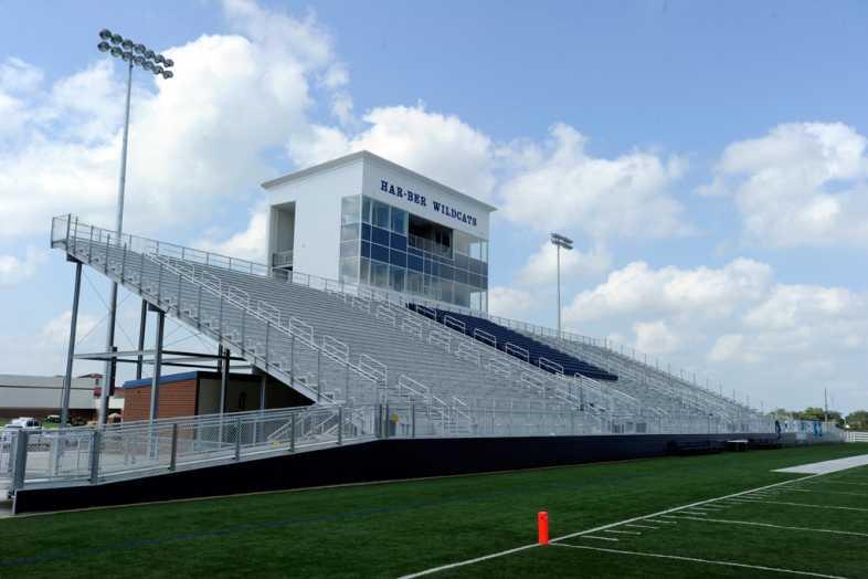Har-Ber High School Stadium Bleachers - 1