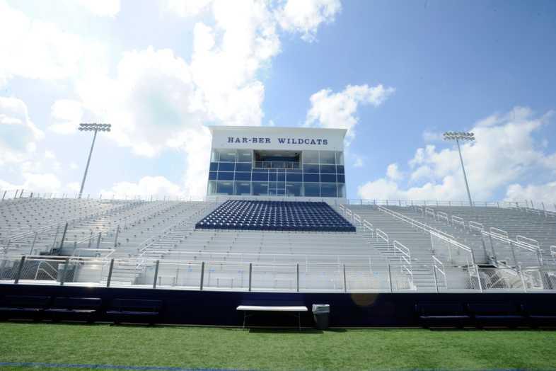 Har-Ber High School Stadium Bleachers - 4