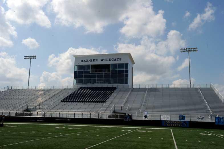 Har-Ber High School Stadium Bleachers - 5