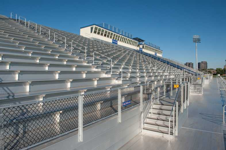 Houston Baptist University Football Bleachers - 2