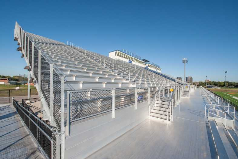 Houston Baptist University Football Bleachers - 3