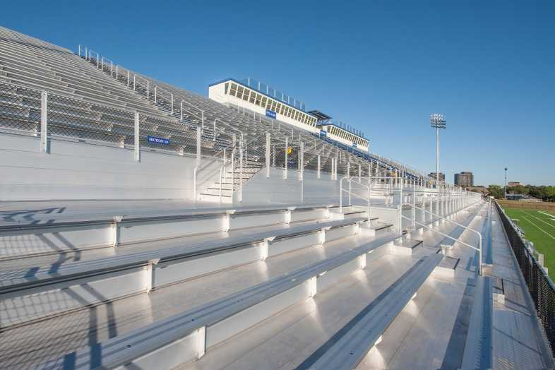 Houston Baptist University Football Bleachers - 4