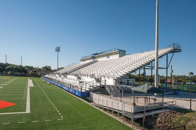 Houston Baptist University Football Bleachers - 6