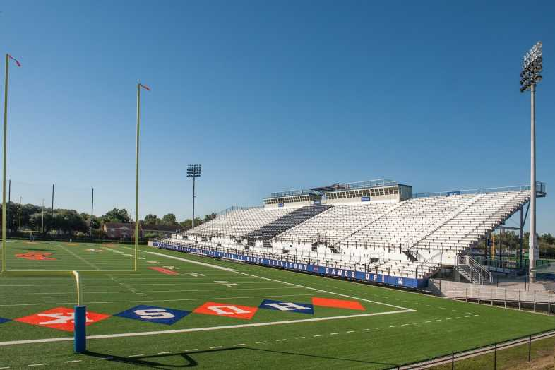 Houston Baptist University Football Bleachers - 1