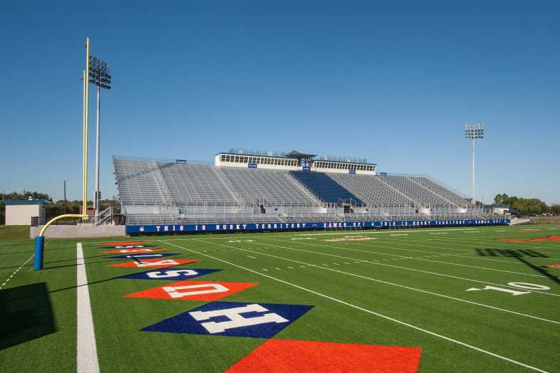 Houston Baptist University Football Bleachers - 12