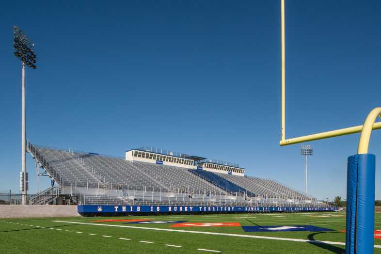 Houston Baptist University Football Bleachers - 14