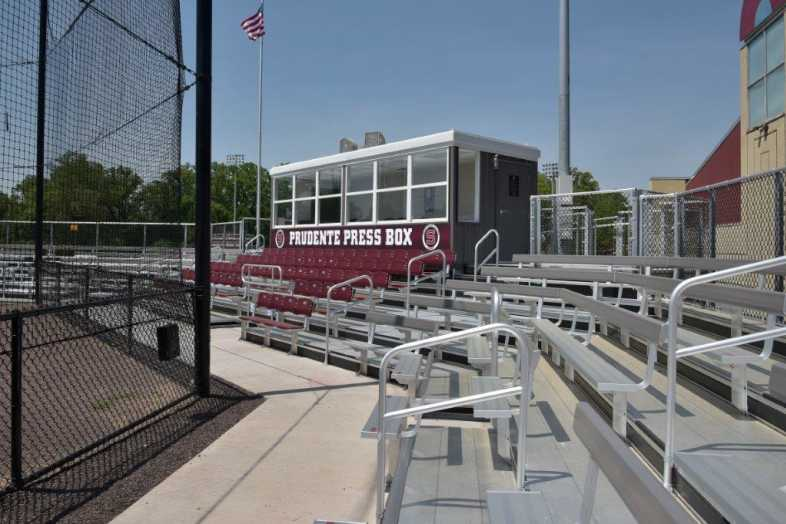 SWARTHMORE COLLEGE - BASEBALL BLEACHERS - 4