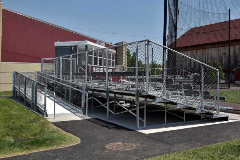 SWARTHMORE COLLEGE - BASEBALL BLEACHERS - 5